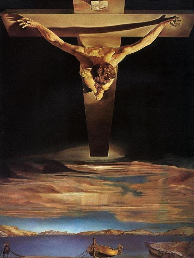 Dalí: Cristo de San Juan de la Cruz (1951)