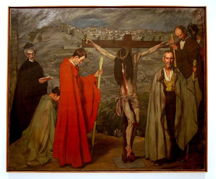 El Cristo de la sangre (1911) de Zuloaga