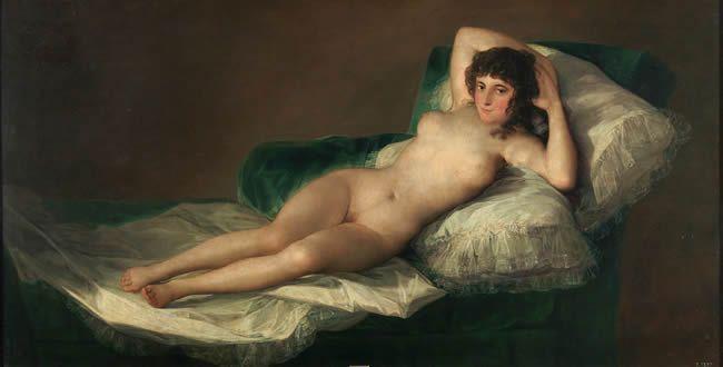 Goya: La maja desnuda