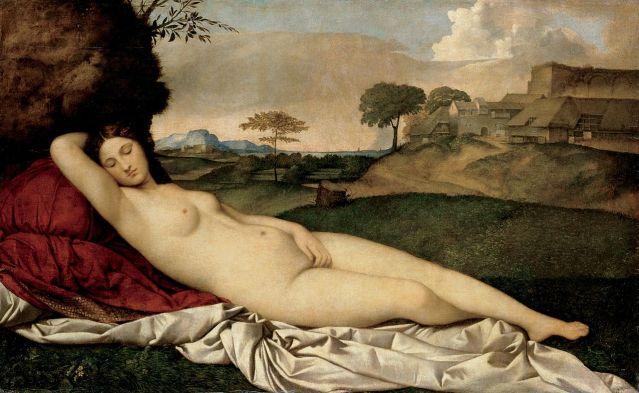 Giorgione: Venus dormida
