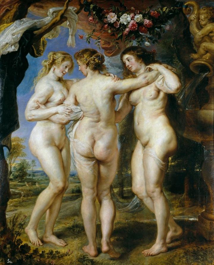 Rubens: Las tres Gracias,1630-1635