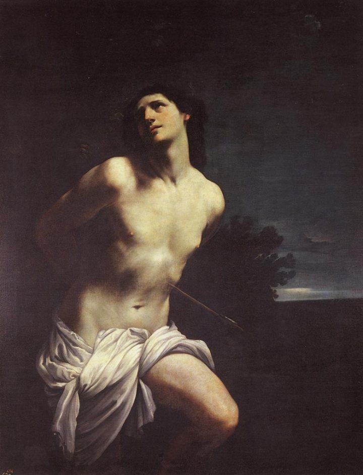 Guido Reni: San Sebastián, 1619, Museo del Prado, Madrid.
