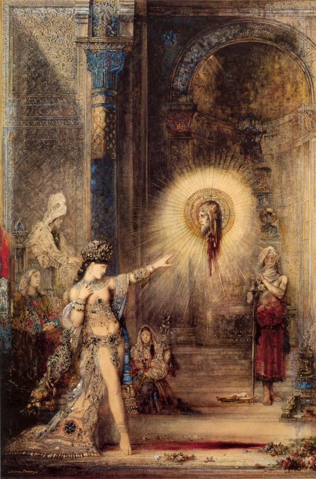 Gustave Moreau: La aparición (1876)