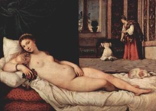 Tiziano: Venus de Urbino