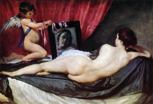 Diego de Velázquez, Venus del Espejo, 1647-1651, National Gallery.