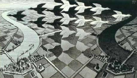 Escher: Día y noche