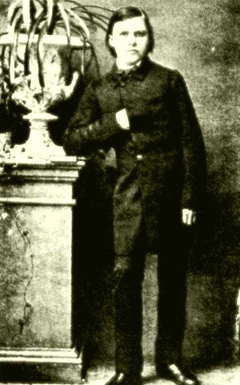 Nietzsche en 1861, 17 años