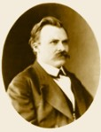 Nietzsche en 1873, 29 años