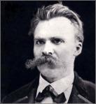 Nietzsche en 1875, 31 años.