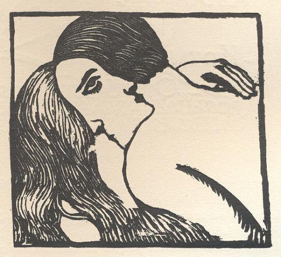 Sonia Lewitzka - Le Baiser, 1928