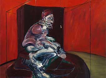 Francis Bacon. Figura tumbada.