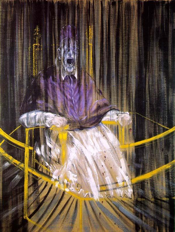Study after Velazquez's Portrait of Pope Innocent X
