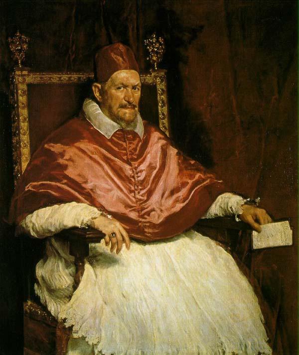 Diego Velazquez, Inocencio X, 1650, Galleria Doria-Pamphili, Roma