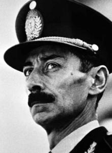 Jorge Videla, uno de los lideres de la Junta Militar