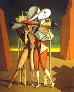 Chirico. Héctor y Andrómaca. 1917