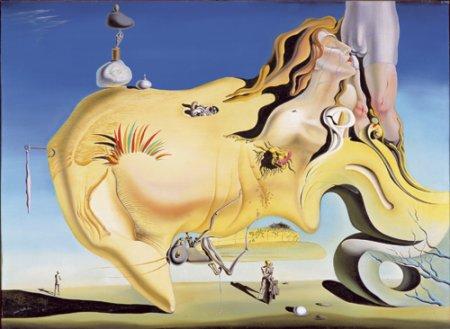 Dali, El gran masturbador. 1929