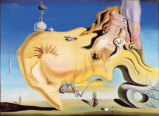 Dalí: El gran masturbador (1927). La hormigas y el deseo.