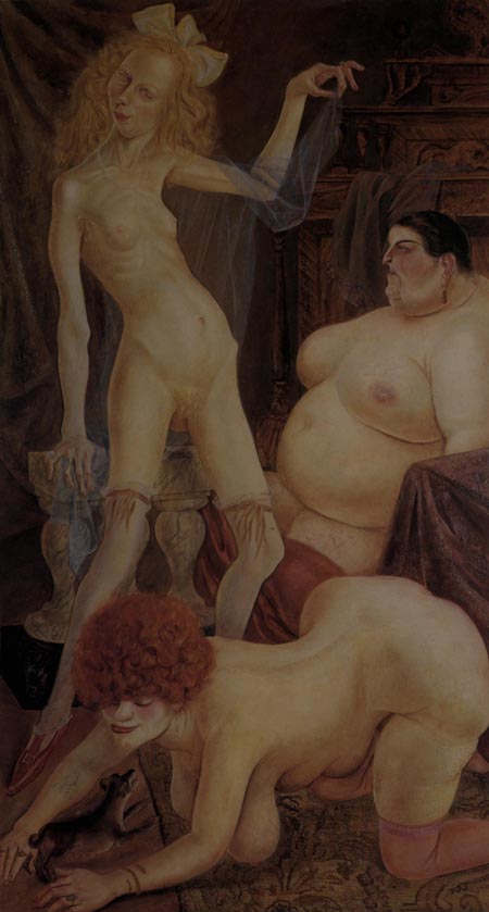 Otto Dix. Tres mujeres. 1926