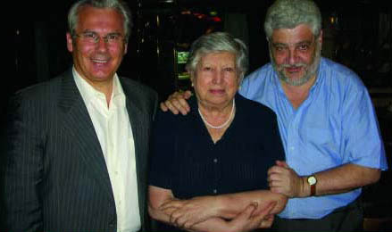 Baltasar Garzón, Isabel Chorobik, Vicente Romero