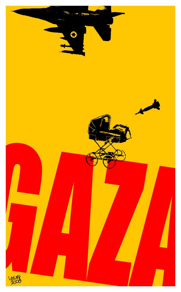 Carlos Latuff, Gaza