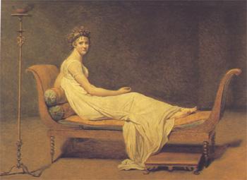 Madame Récamier, 1800. Paris, Louvre.