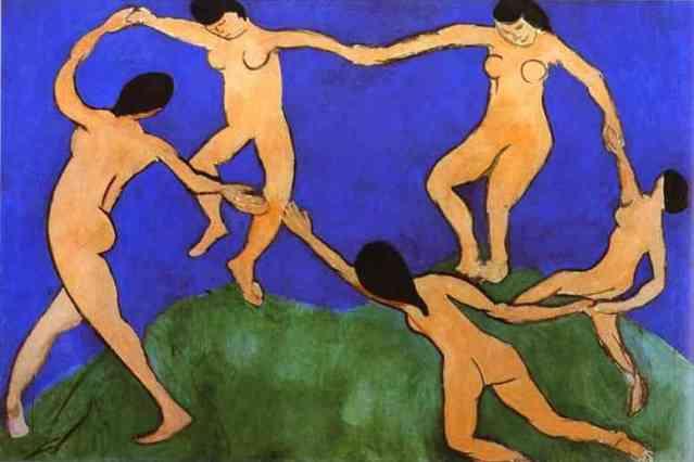 Matisse. la danza. 1910