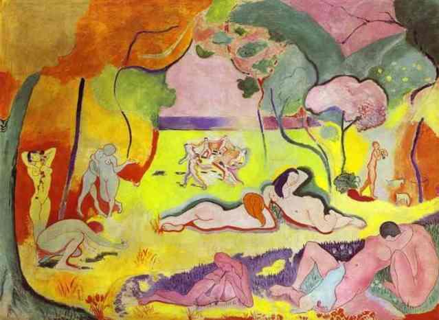 Matisse. La felicidad de vivir. 1906