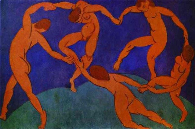 La danza II (1910). San Petersburgo, Ermitage.