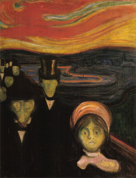 E. Munch. Angustia. 1894