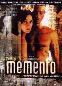 Cartel de la pelicula Memento