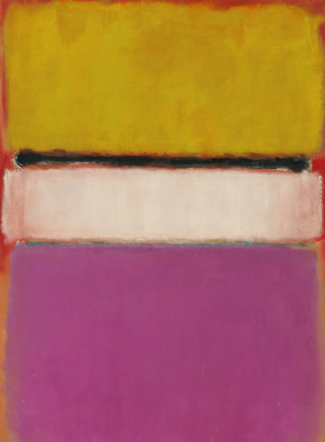 Rothko. Centro blanco.