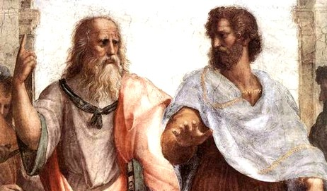 Rafael: La escuela de Atenas (detalle)