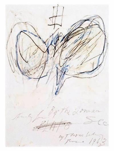 Cy Twombly, Platón, 1963. ( http://ficus.pntic.mec.es/~wque0012/filantigua/platon/)