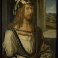 Alberto Durero, 1498, Autorretrato, Museo del Prado.