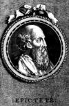 Impresión artística de Epicteto. Grabado por S. Beyssent.