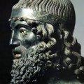 Bronces de Riace (detalle), siglo V a. C. Museo nacional de la Magna Grecia de Regio de Calabria