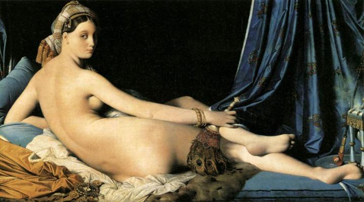 Ingres. La gran odalisca. 1814. Louvre, París.