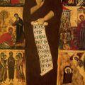 Maestro de la Magdalena: Sainte Marie-Madeleine, avec huit épisodes de sa vie, s. XIV, Galería de la Academia, Florencia.
