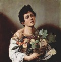 Caravaggio: Frutero, 1594, Galería Borghese, Roma