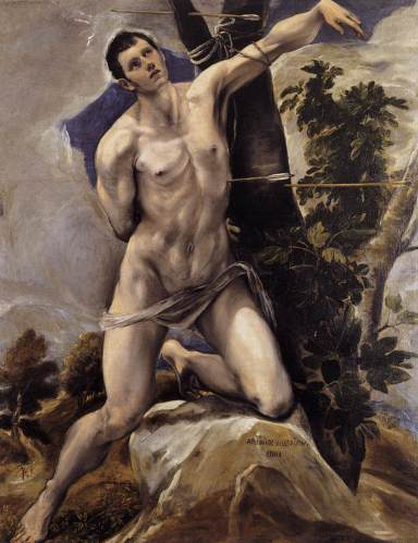El Greco: San Sebastián, 1578, Catedral de San Antolín, Palencia.