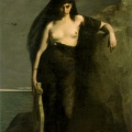 Mengin, Safo, 1867, Manchester Art Gallery