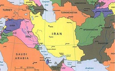 mapa iran iraq afganistan