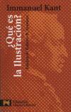 Kant: ¿Qué es Ilustración? (Roberto Aramayo ed.)