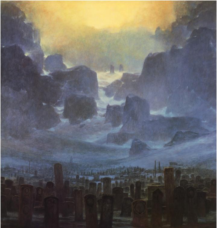 Beksinski. Las Ideas de Platón vistas a través de la niebla y el escepticismo...