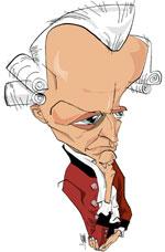 Caricatura de I. Kant (http://www.elcultural.es/version_papel/LETRAS/8834/Kant_%28una_biografia%29)