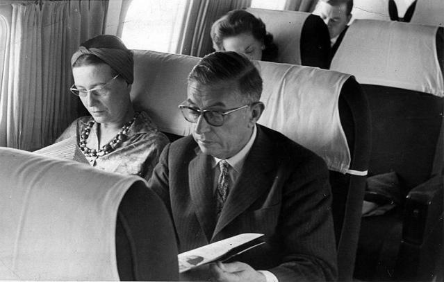 Sartre y Beauvoir