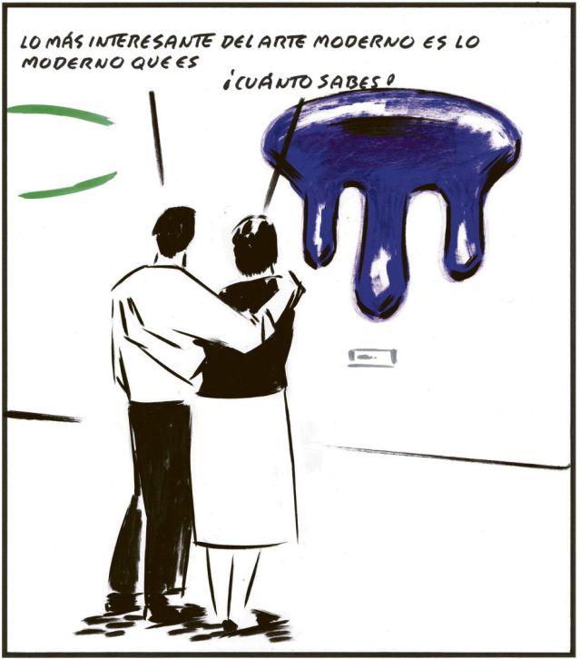El Roto, publicado en elpais.com el 14 de febrero de 2013.