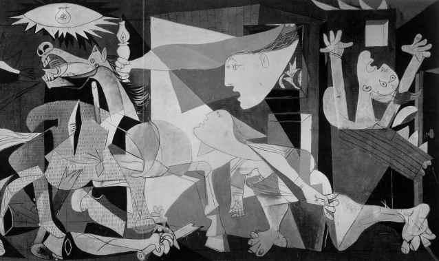 Picasso, Guernica, (1937)