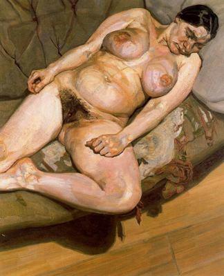 Lucien Freud: Seated Figure, 1982