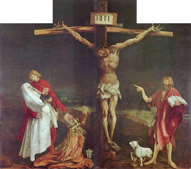 Matthias Grünewald: Isenheimer Altar, Musée d'Unterlinden. S. XVI